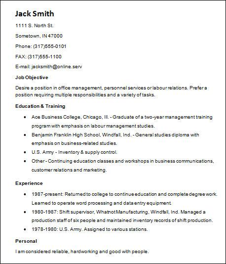 22  basic resume templates