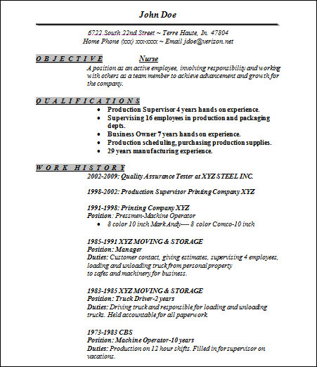 free 22  sample basic resume templates in ms word