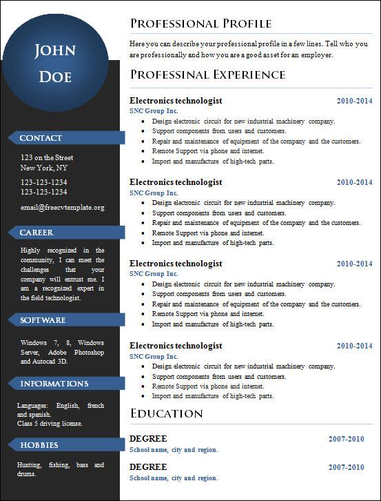 19 creative resume templates