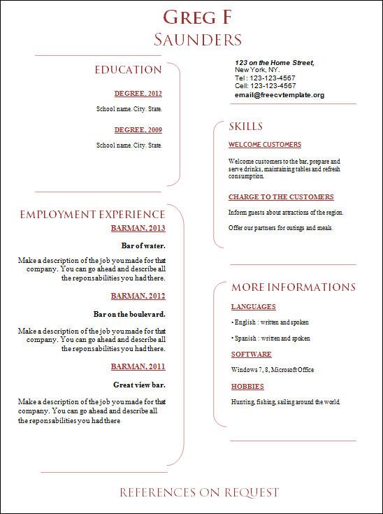 creative school administrators resume1