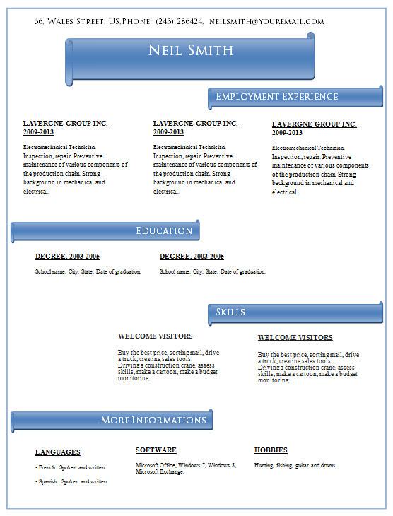 free insurance agent resume