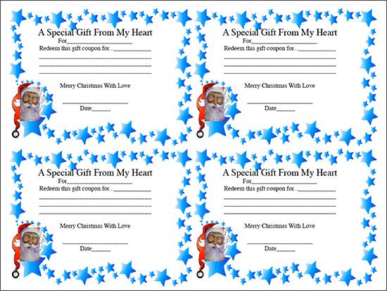 printable gift coupon template .