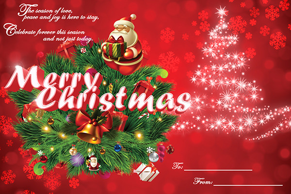 14 best christmas card templates sample templates christmas greeting card design m4hsunfo