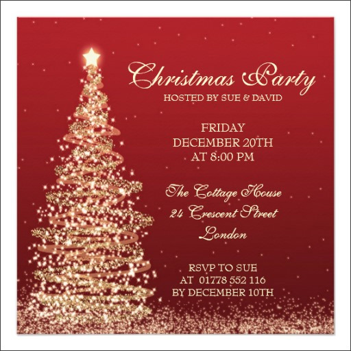 22+ Printable Christmas Invitation Templates - PSD, Vector ...