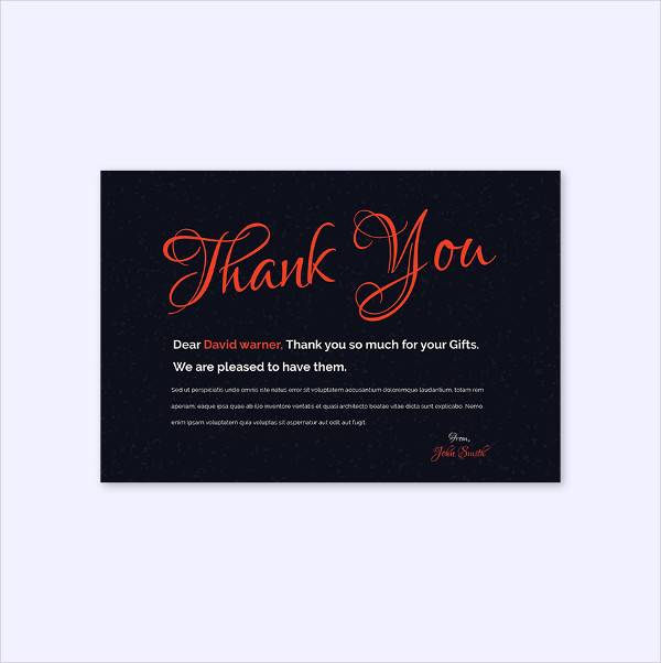 free chalkboard christmas thank you card template