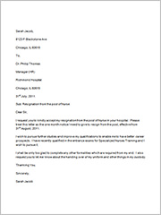 35 sample resignation letters in word sample templates nurse resignation letter altavistaventures Images
