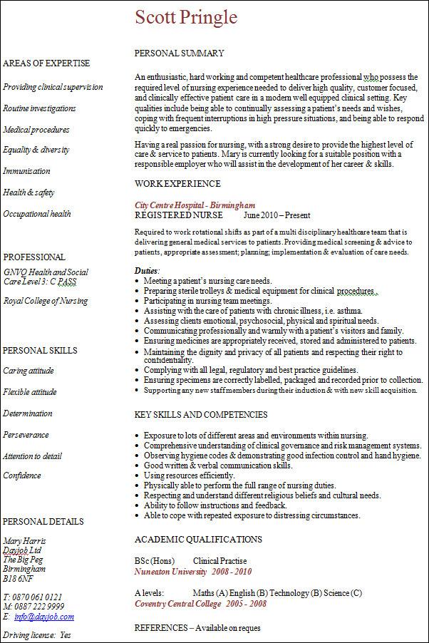 20 professional resume templates sample templates professional nursing resume examples 09052017 - Professional Nursing Resume Examples
