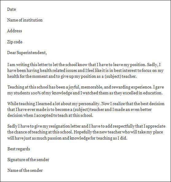 sample letter complaint school teacher cover letter templates