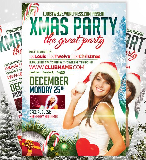 xmas party flyer
