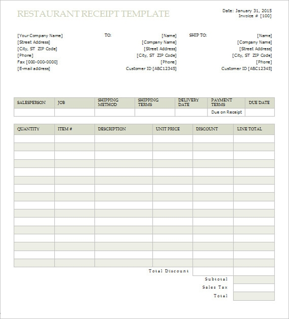 Doc600606 Sample of Official Receipt Doc707427 Sample – Sample Official Receipt