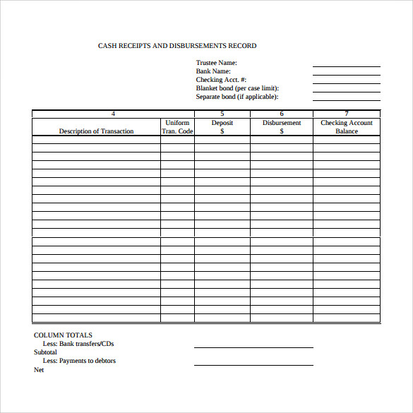 sample cash receipt template 21 free documents in pdf word