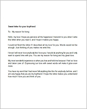 love letters to your boyfriend free sample letters in word sample templates 23512 | Love Letter to your Boyfriend2