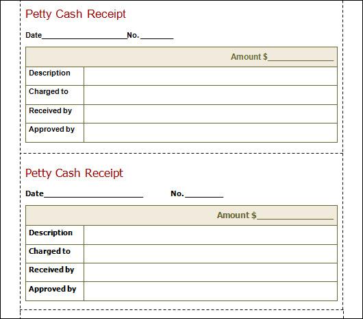 petty cash sheet template .