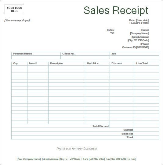 printable sales receipts koni polycode co