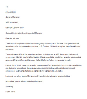 resignation letters 35 download free documents in word