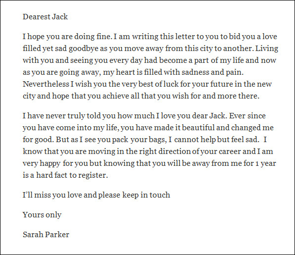 Sample Love Letters for Him 14 Free Documents in PDF Word – Love Letter for Him