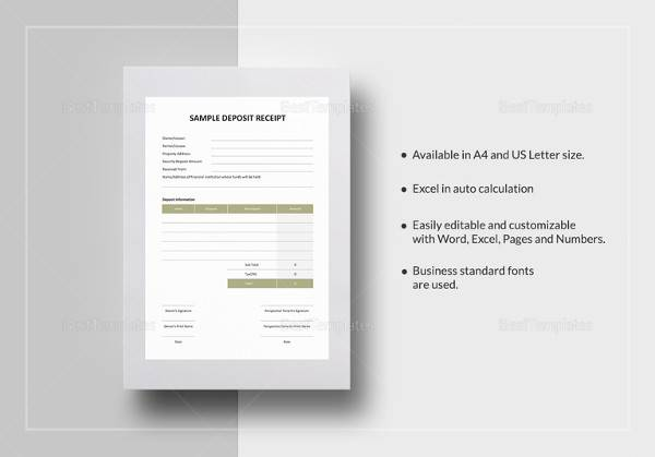 free 30  cash receipt templates in google docs