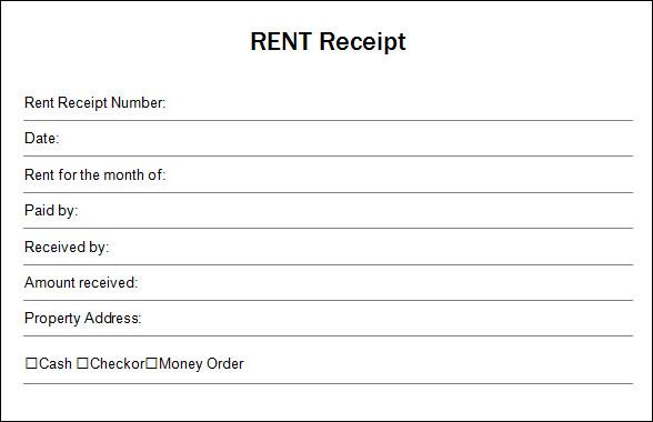 printable receipt template .