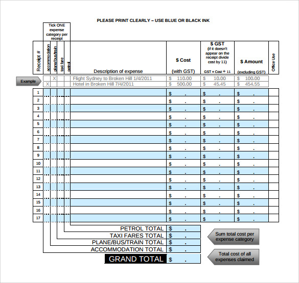 18 Taxi Receipt Templates To Download Sample Templates