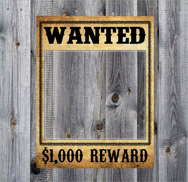 Doc430632 Wanted Poster Template for Word 19 FREE Wanted – Reward Poster Template Word