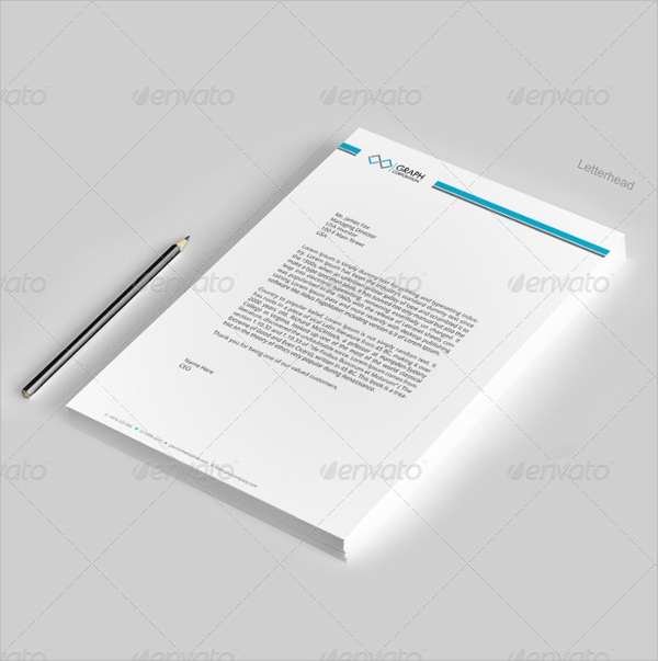 Sample letterhead template 42 free documents in pdf psd word letterhead design template accmission Image collections