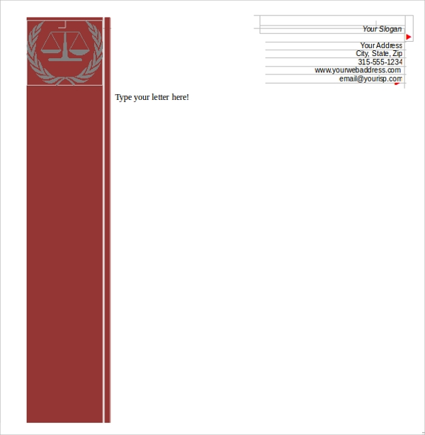 42 company letterhead templates sample templates create letterhead template spiritdancerdesigns Gallery