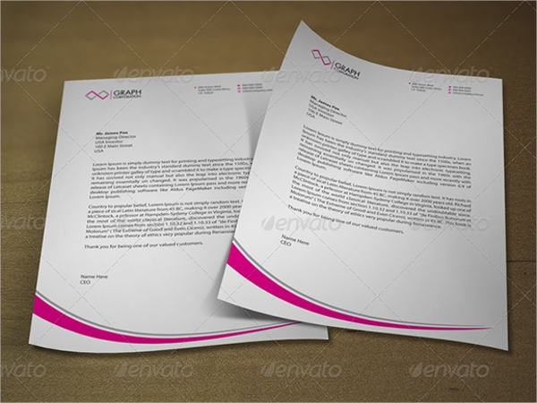 42 Company Letterhead Templates | Sample Templates