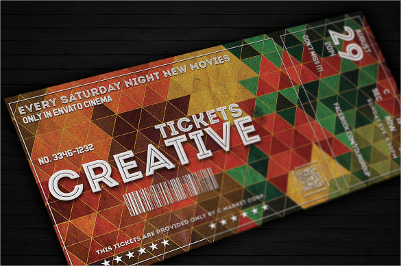 Ticket Template 23 Download Documents in PDF PSD – Create a Ticket Template