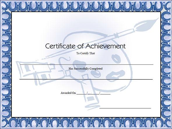 2 certificates achievement