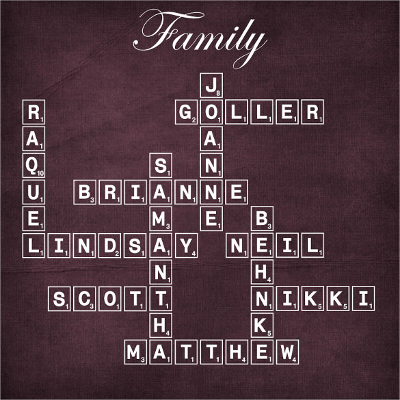 personalized modern family tree