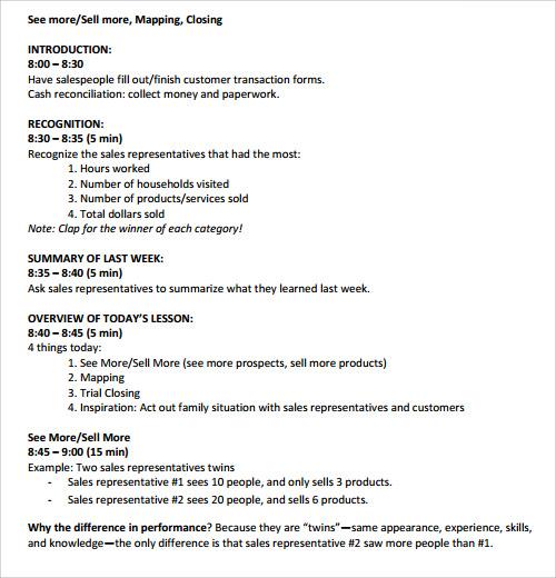 FreeSalesMeetingAgendaTemplatejpeg – Sample Sales Meeting Agenda