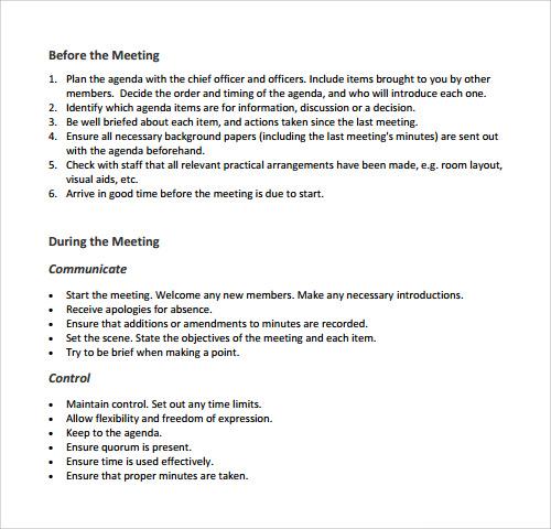 Agenda Outline Sample  BesikEightyCo