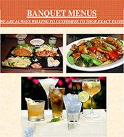 banquet dinner menu
