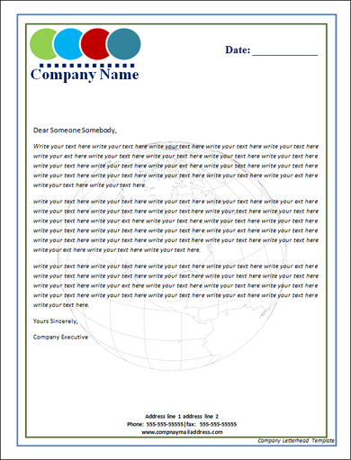 Business template company letterhead 10 letterhead template download free documents in pdf psd word thecheapjerseys Gallery