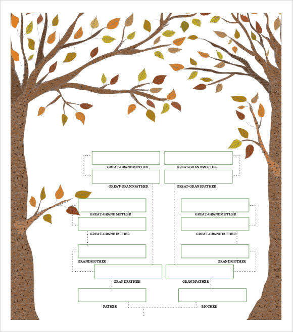 family tree chart example