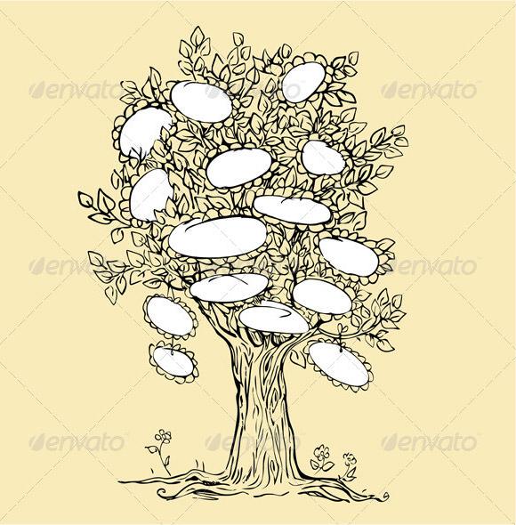 Family-Tree-Design-Template