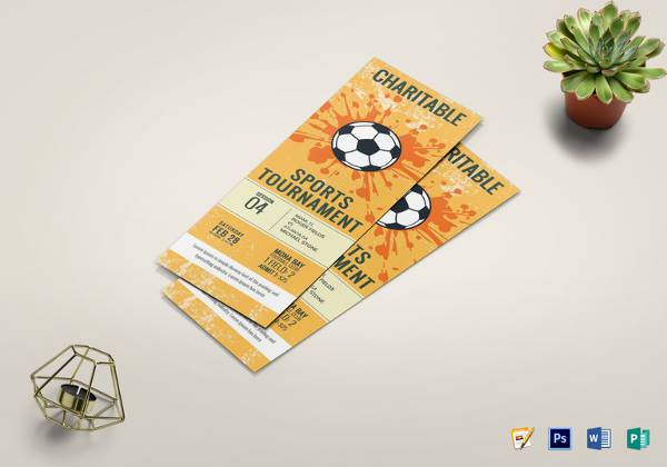 football-tournament-ticket-template