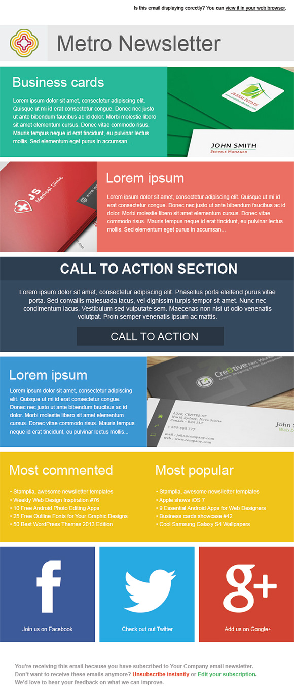 Metro-Email-Newsletter Online Newsletter Templates on fun company, microsoft word, free office, free printable monthly, classroom weekly,