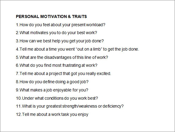 what motivates you to work
