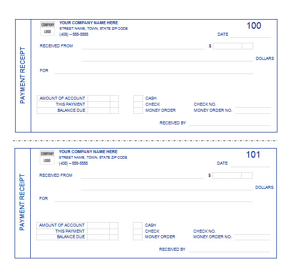 payment receipt template microsoft word .