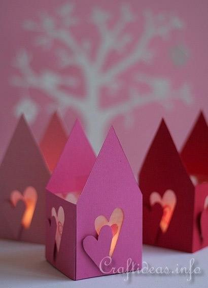 romantic valentine's day craft