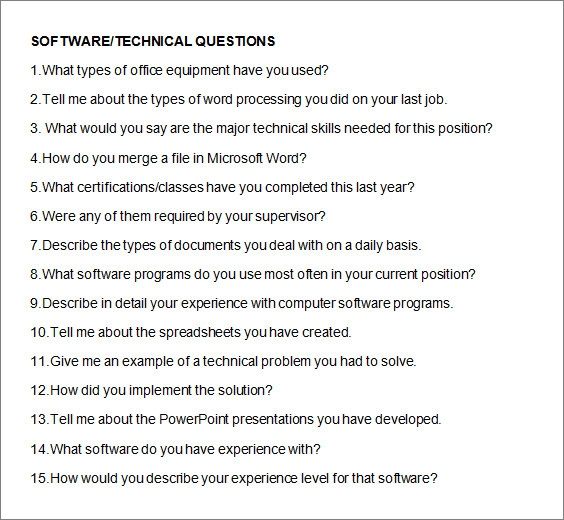 Fashion Designer Interview Questions For Blog Sample