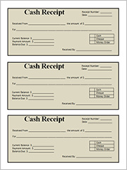 40 free receipt templates sample templates