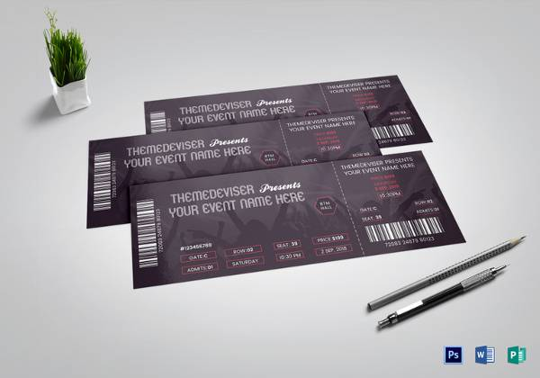 simple-concert-ticket
