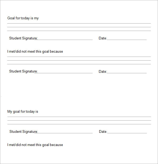 Student Contract Template How To Write A Learning Contract – Student Agreement Contract