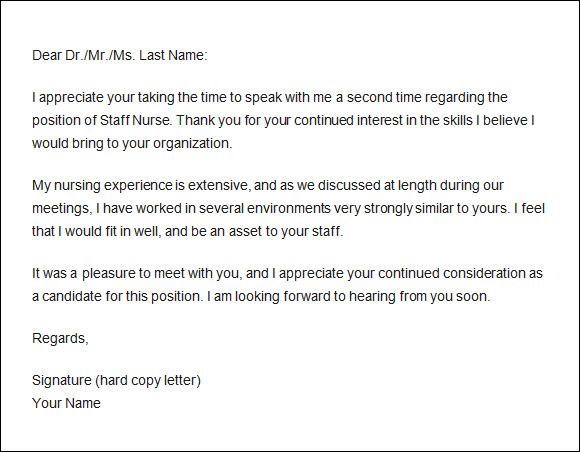 teacher interview thank you letter