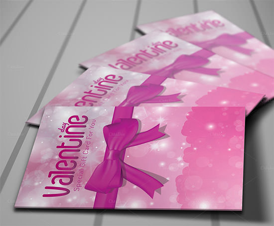 valentine day gift card