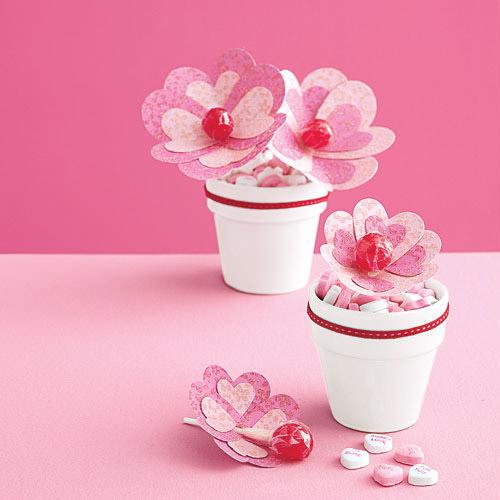 valentine flower craft