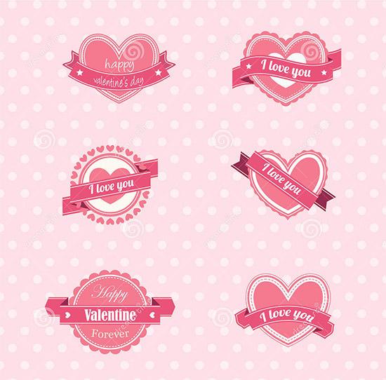valentine label