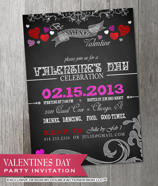 20  best valentines day invitation templates